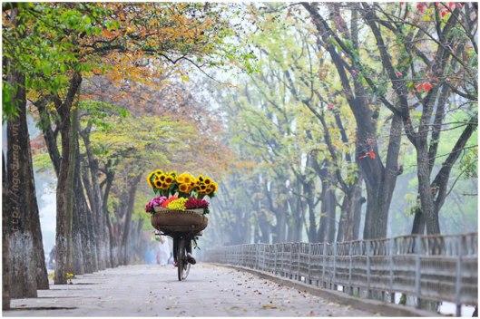 du lịch hà nội 1 ngày mùa thu